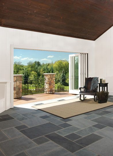 Marvin Windows and Doors Photo Gallery - my husband loves the idea of folding/retractable glass doors