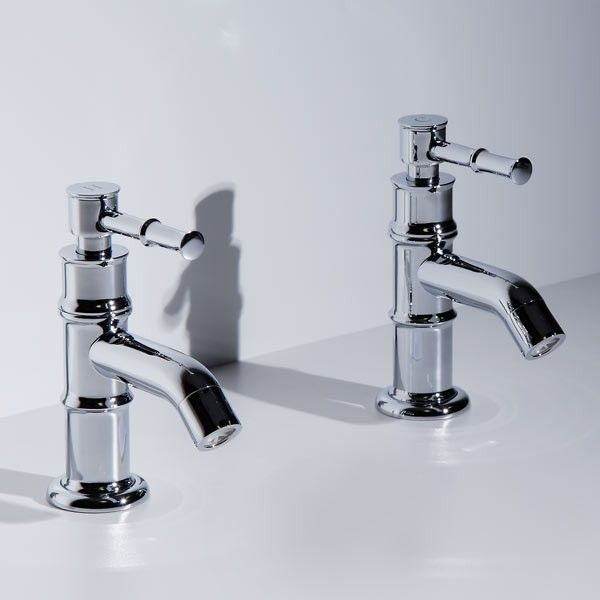 Washington Lever Basin Taps, priced at £44.95. A contemporary twist on a classic design, these Washington Lever Basin Taps feature traditional styling coupled with the latest ceramic disc technology. Manufactured from solid brass and finished in chrome, this Washington set is suitable for system pressures greater than 0.1 Bar. Order now at - http://www.taps.co.uk/washington-lever-basin-taps.html