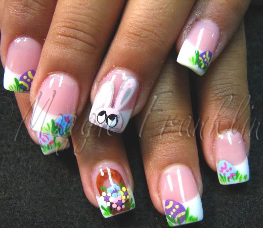 easter nails : That would be an option !