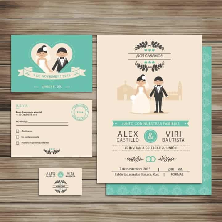 Invitaciones de bodas originales - bodas.com.mx