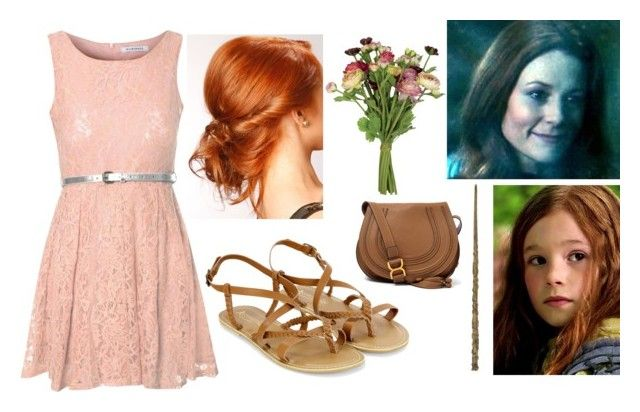 Modern Lily Evans by slytheriner on Polyvore featuring Glamorous, Monsoon, Chloé, OKA, LIST, Alden and modern