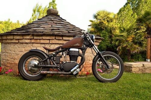 suzuki savage bobber by fmgarage motorcycles bobber. Black Bedroom Furniture Sets. Home Design Ideas