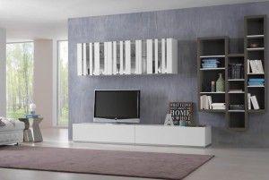 salon con muebles baratos