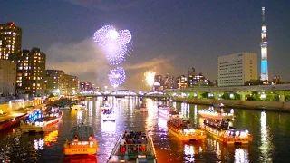 [4K]Tokyo summer night 夏の東京•納涼祭 東京観光 隅田川花火大会 ディスカバーニッポン - YouTube