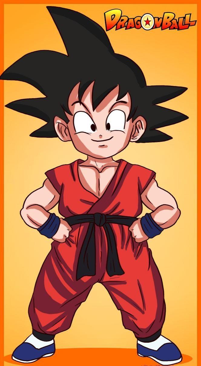 Como Desenhar O Goku De Dragon Ball Muito Facil Goku Desenho