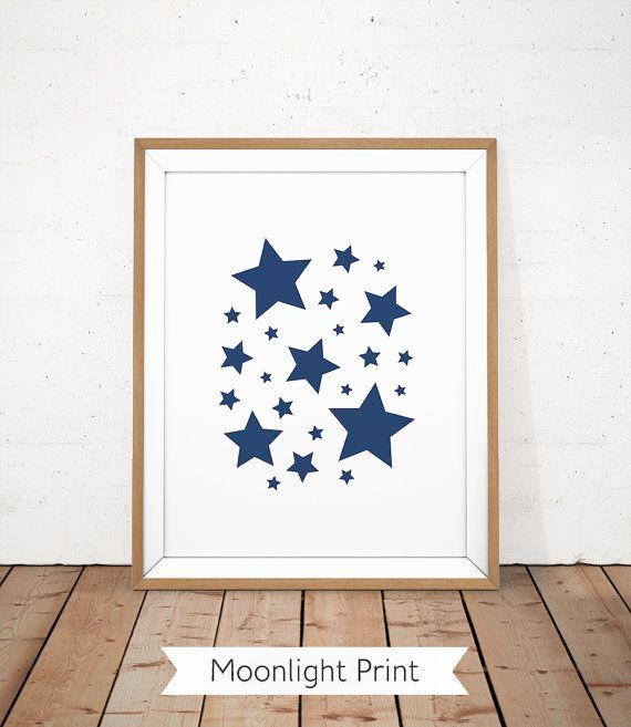 Étoiles marine imprimer étoiles Illustration pépinière