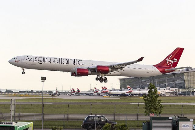 Virgin Atlantic Airbus A340-600 G-VGAS by LHR Local, via Flickr