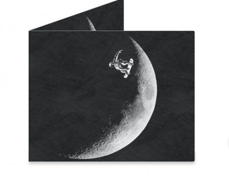 Dynomighty Artist Collective: Moon boarder by barmalisiRTB Moon boarder, skateboard, space, astronaut, funny, art, design, illustration, barmalisiRTB