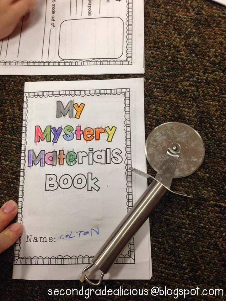 Secondgradealicious: Materials, Objects, and Everyday Structures