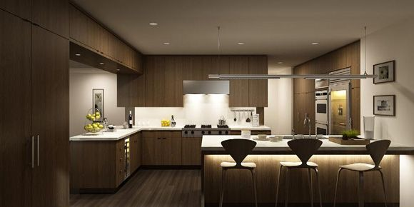 Modern Kitchen 3d Model kitchen 3d model of fashion-download 3d model-crazy 3ds max free
