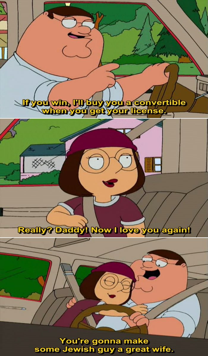 Family Guy Peter Teaches Meg About Hookup