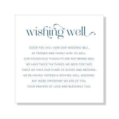 Refined Wedding Invitations Antoinette Wishing Well