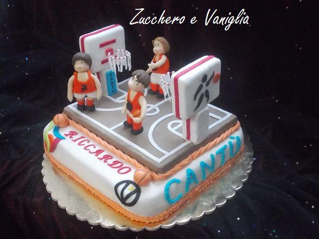 torta pallacanestro