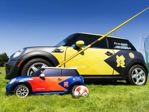 Mini Mini's fetch and carry at the UK Olympics - a real winner - have you noticed them?
