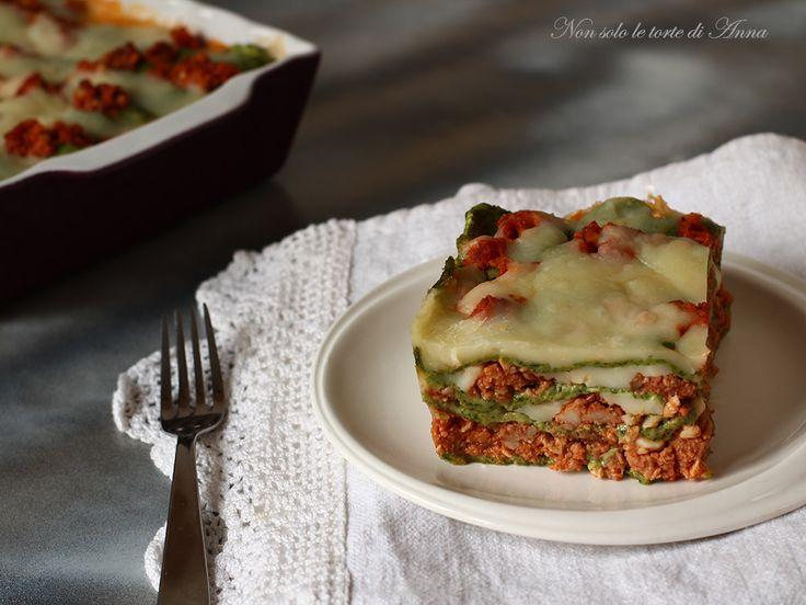 Lasagne+verdi+al+ragù+di+tacchino