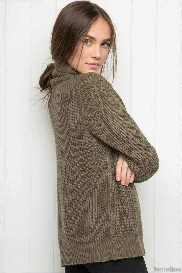 The Look Right: Winter Comfortable with Knitting Cardigan