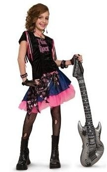 punk rocker costume