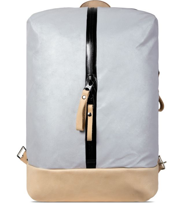 Nocturnal Workshop Silver/Natural N.3 Backpack