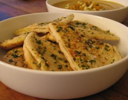 Garlic Flat Bread - Old Style & Favourite South-African Recipes