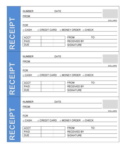 9 best images about Rent Receipt Template on Pinterest | Receipt ...