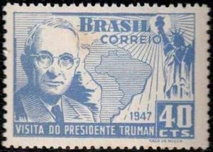 Visit of United States of America's president - Harry Truman