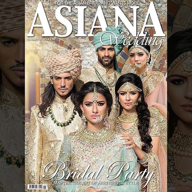 This month's @asianatv front cover is so regal and stunning . Make sure you purchase the new Asiana Magazine and check out the best outfits jewellery photography stunning models and our beautiful nails. #Repost @asianatv Introducing the new Summer edition of Asiana Wedding Magazine. 2016 is the year of natural allure and we are championing the trend with fresh-faced beauty looks by @nazmeenmakeupNazmeen beautiful soft pastel shade garments by @mongasuk and stunning statement classical…