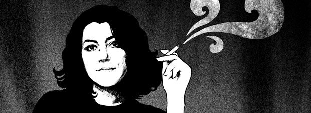 #Marjane #Satrapi has a #fascinating story. She's a #graphic #novelist, #illustrator, #animation movie #director and children's book #author. I read her graphic novel #Persepolis a couple of years back and was moved by her honesty and style. The drawings is mainly black and white, the lines simple and naive and yet the story colorfull and serious. I hope one day to get a hold of one of her children's books.