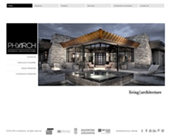 Phoenix Architecture Website Re-Design   PTS Multimedia
