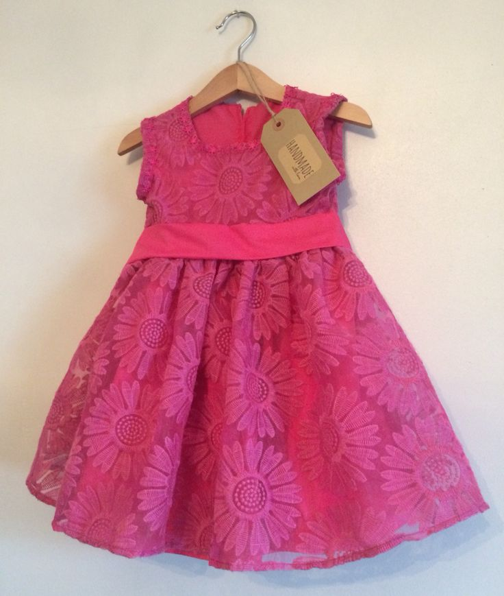 Handmade Kiddy Boutique dress. One off Design £24.95 x