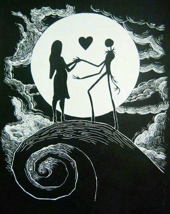 jack and sally pregnant night before christmas A.M | jack skellington | Pinterest | Before ...