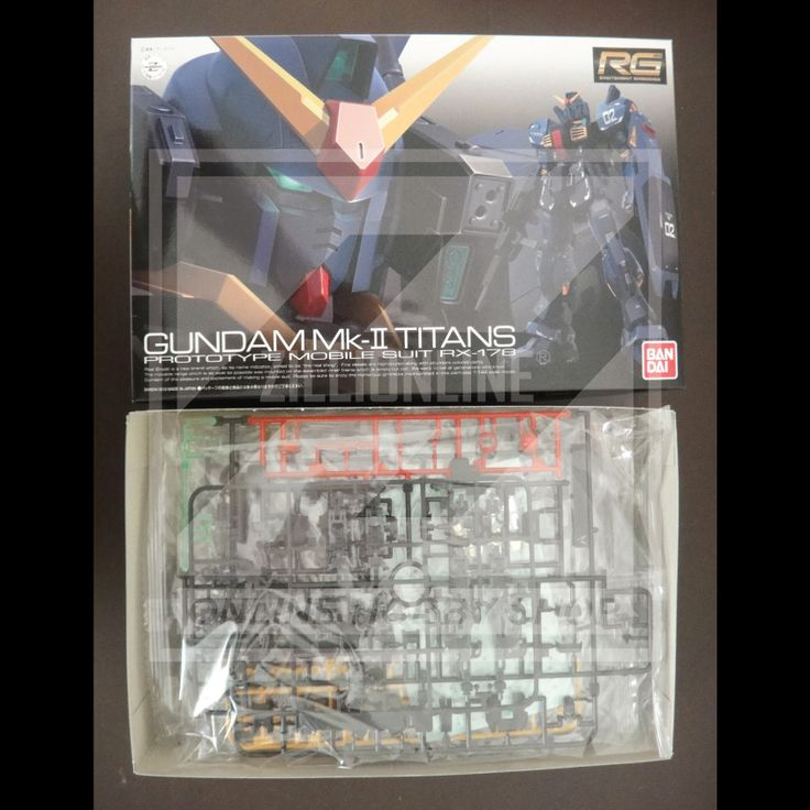 [MODEL-KIT] RG 1/144 - RX-178 GUNDAM MK-II ( TITANS ). Item Size/Weight: 31.1 x 19.2 x 8.3 cm / 421g*. (*ITEM SIZE & WEIGHT BEFORE PACKAGED). Condition: MINT / NEW & SEALED RUNNER. Made by BANDAI.
