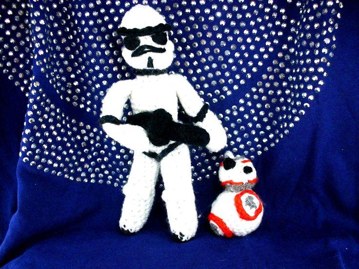 kostenlose Häkelanleitung, kostenlose Anleitung, BB8, BB-8, bb8, bb-8, Star Wars, Star-Wars-Figuren häkeln, Stormtrooper,