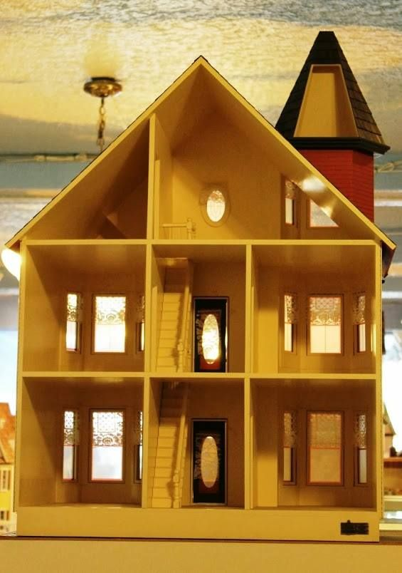 51 Best Images About D7 Painted Lady Dollhouses On
