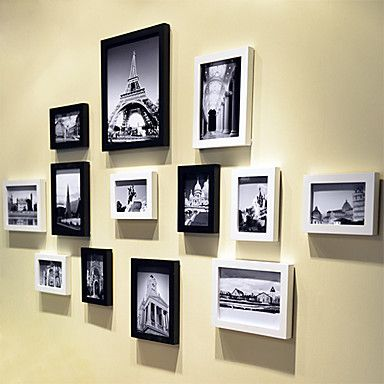 marcos de fotos Galería de collage contemporáneos, conjunto de 13 - USD $ 59.99