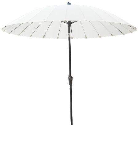 Tok Garden Aurinkovarjo 2,6m valkoinen - Pihakalusteet ja -rakennukset - Tokmanni