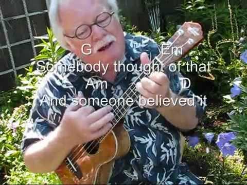 """▶ RAINBOW CONNECTION for the UKULELE - UKULELE LESSON / TUTORIAL by """"UKULELE MIKE"""" - YouTube"""
