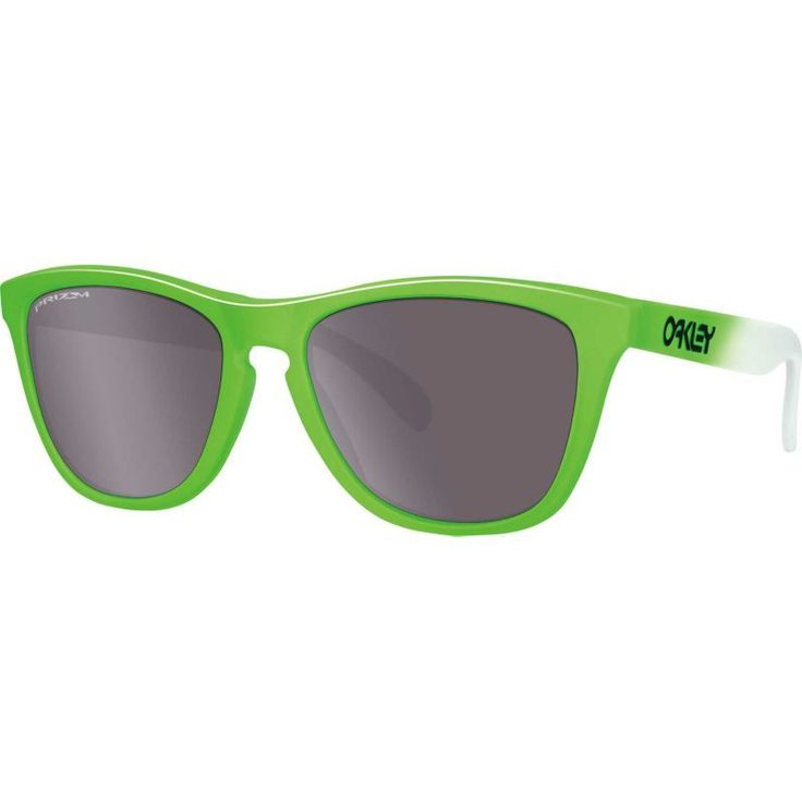 Oakley Frogskins Green Fade Prizm Polarized Sunglasses
