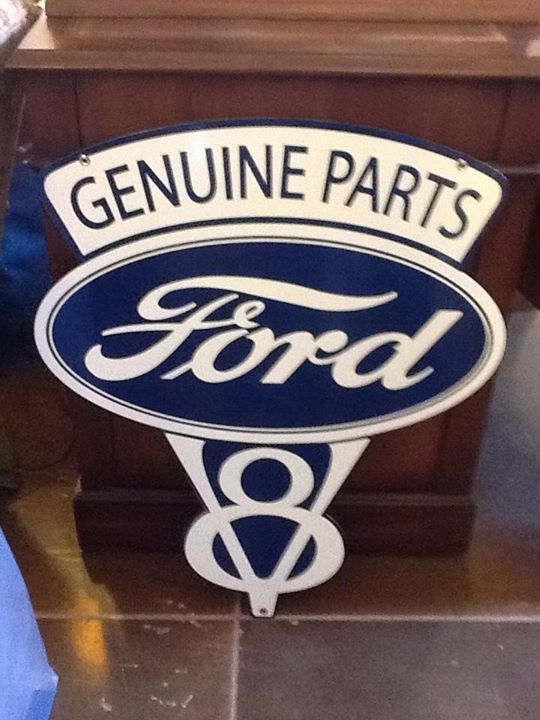 Old fashioned Ford Sign