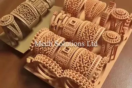 3D printed artware using red wax and DLP technology with low price, in GTA toronto, Canada