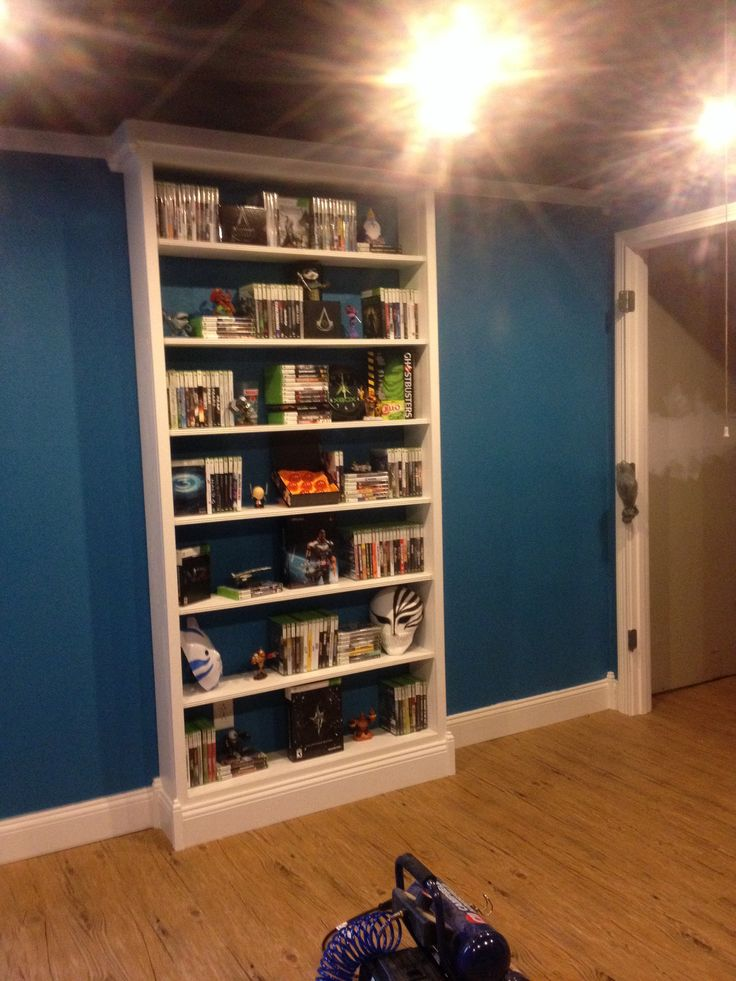Video game shelf