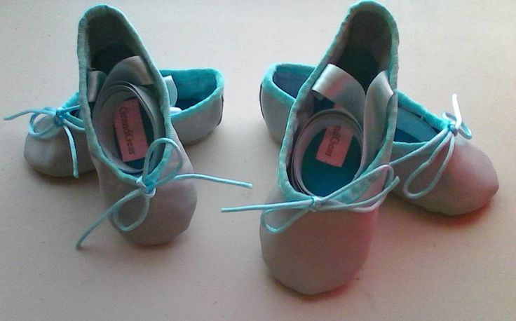 Lambskin Baby Ballet Slippers with Ribbons - Little Children & Babies sizes by GrandGear on Etsy