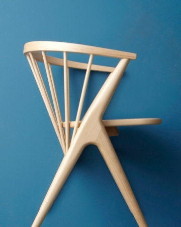 """Maple """"Soren"""" chairs from Room and Board"""