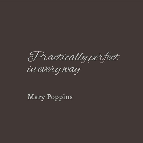 Mary Poppins CV by Giraffe CVs http://www.giraffecvs.co.uk/mary-poppins-cv/