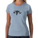 An RN Medical Symbol Tee Shirt:  T-Shirt, Medical Symbols, Jersey,  Tees Shirts, Kingdom Keeper, Tee Shirts, Products, Symbols Tees