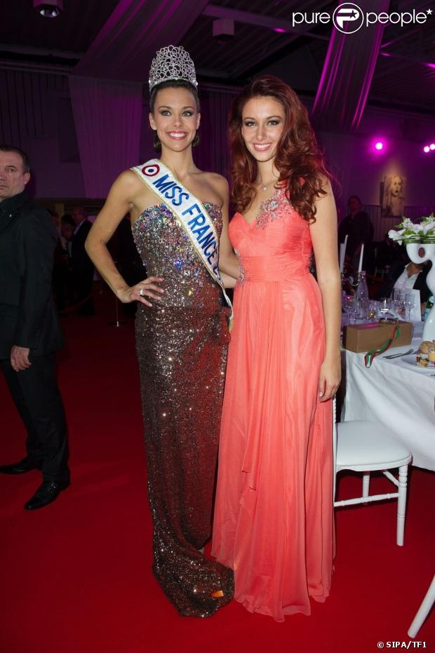 Miss France 2013 et Miss France 2012