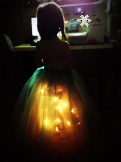 Светящийся наряд для маленькой принцессы! » Женский Мир