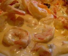 Receta de Camarones en crema chipotle - Fácil