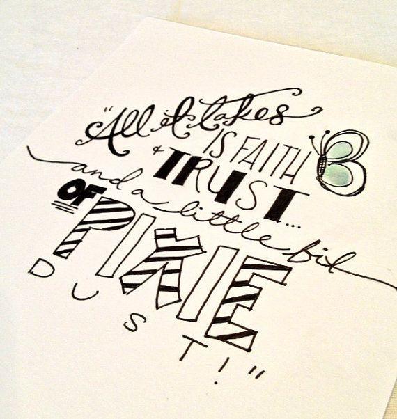 Hand Lettering By Kcrandalllettering On Etsy Hand