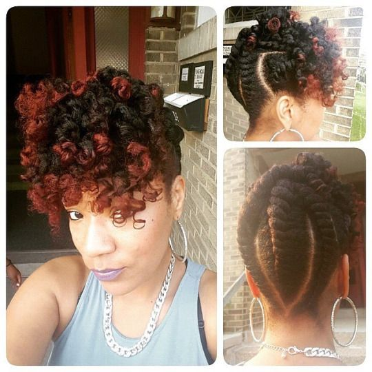 Amazing 1000 Ideas About Natural Updo Hairstyles On Pinterest Dominican Short Hairstyles Gunalazisus