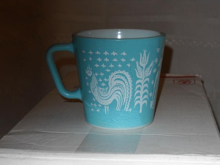 Rare Pyrex Amish Erprint Mug Don T Miss Out